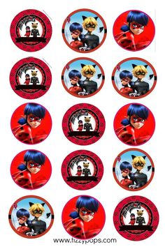 Discover recipes, home ideas, style inspiration and other ideas to try. 4th Birthday Parties, Birthday Party Favors, Baby Birthday, Frozen Birthday, Mickey Mouse Parties, Mickey Mouse Birthday, Miraculous Ladybug Party, Ladybug And Cat Noir, Ladybug Cakes