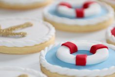 More Nautical Cookies