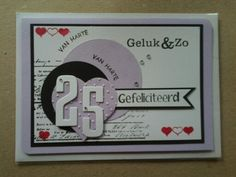 Huwelijk 25 jaar