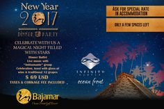 ¡ONLY A FEW SPACES LEFT!  You can't miss this magical night that Bajamar is preparing for you.