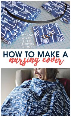 Learn how to make a nursing cover with this simple DIY tutorial. Free pattern and step-by-step instructions included!