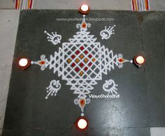 Rangoli designs awe-inspiring designs for your home Indian Rangoli Designs, Simple Rangoli Designs Images, Rangoli Designs Latest, Rangoli Designs Flower, Rangoli Border Designs, Rangoli Patterns, Rangoli Ideas, Rangoli Designs With Dots, Kolam Rangoli