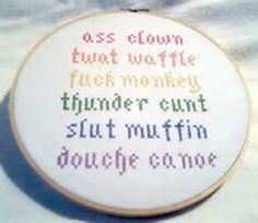 Snarky Cross Stitch - Bing Images