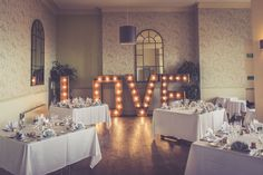 The Hire Supplier Illuminated 'LOVE' letters @ The Walton Park Hotel Popcorn Stand, Bristol England, Park Hotel, Love Letters, United Kingdom, Rustic, Table Decorations, Vintage, Home Decor