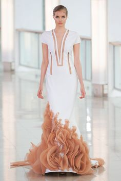 "Stephane Rolland Spring 2015 Couture - Worn by Nieves Alvarez at the ""Shan He Gu Ren"" 2015 Cannes Film Festival Premiere"