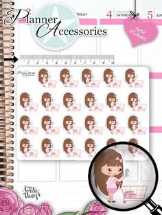 Shopping Stickers Shopping Planner Stickers Erin Condren Live Planner Functional Stickers Decorative Stickers Cute Stickers 1355 by emelysplannershop. Explore more products on http://emelysplannershop.etsy.com