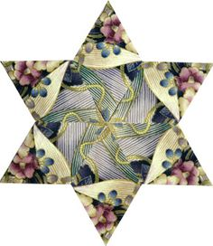 This has to be one of my favorite quilt blocks!  Made with Inklingo.