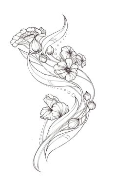 Tatto Ideas 2017  Art Nouveau Tattoo design by Tegan-Ray on deviantART