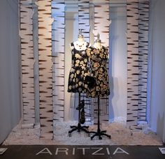 Aritzia, 'Art of Display' Visual Merchandising Exhibition at Redefining Design 2014. The School of Fashion at Seneca College. #RedefiningDesign