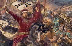 Bitwa pod Grunwaldem - część pierwsza - Wielka Sztuka ... Painting, Art, Art Background, Painting Art, Kunst, Paintings, Performing Arts, Painted Canvas, Drawings