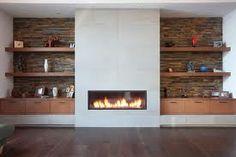 modern fireplace - Recherche Google