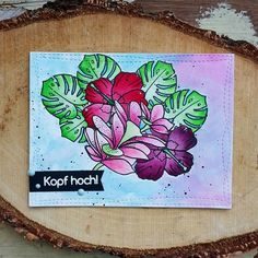 Create A Smile Stamps, Aloha Spirit, Cardmaking, Cards, Crafting