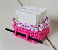 Paper Pen Basket by www.handmade-love.de