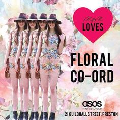 Make a statement in floral this summer!! Our gorgeous floral co-ord is perfect for any special occasion! Wear as a set or as individual pieces!! Get or regret at 21 Guildhall Street, Preston City Centre! Or online at www.maryandmilly.co.uk! Don't forget about the FREE UK shipping!! See you soon, M&M x #maryandmilly #boutique #summer #florals #weddings #love #sun #bright #statement #getorregret #asos #asosmarketplace #fashion #fashionbloggers #style #styling #stylediaries #stylebloggers