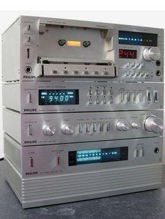 PHILIPS MINI-Series 200 ( made in Japan) Radios, Hifi Stereo, Hifi Audio, Hi Fi System, Audio System, Super Sons, Speaker Amplifier, Speakers, Audio Rack