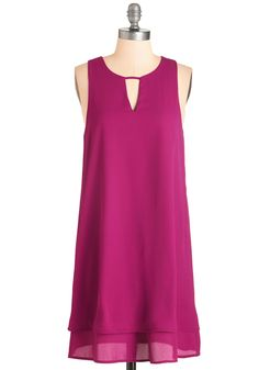 Gracefully Yours Dress in Orchid. Discover style that complements your charm and savoir-faire in the gossamer chiffon of this orchid-purple dress! #pink #modcloth