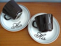 For morning coffee or evening tea...