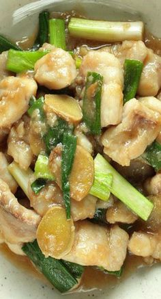 Low Carb Recipes To The Prism Weight Reduction Program Ginger And Scallion Pan Fried Sole Filet Chinese Fish Fillet Recipe, Stir Fry Fish Fillet, Fish Recipes, Seafood Recipes, Asian Recipes, Cooking Recipes, Healthy Recipes, Fish Dishes, Seafood Dishes