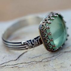 Gorgeous aquamarine ring                      ❤