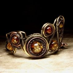 Steampunk Jewelry by Catherinette Rings