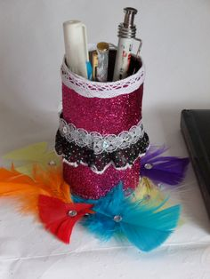 Pen Holder by Fgasior on Etsy.EtsyFor more information about this iteam please visit my shop on Etsy.Thank you.