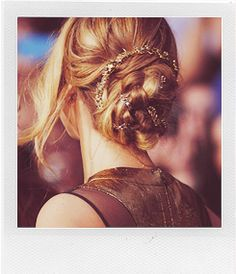 Jennifer Lawrence's hair at the Hunger Games LA premiere!