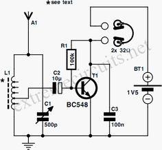 one+transistor+radio+circuit+diagramw.gif (456×422)