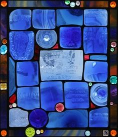 Blue Stained Glass by Stacy O'Rourke