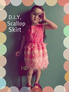 Llevo el invierno: M.a.k.e. Scallop Skirt !
