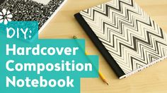 """[Composition Notebook Planner] How to Make a Hardcover Composition Notebook → In case you want to """"fancy up"""" your lovely notebook planner!"""