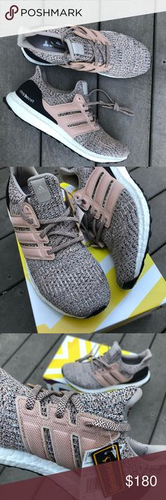 NEW Adidas Ultraboost Pearl/Black *Offers Accepted Brand new Men's Pearl/Cream and Black Ultraboost. Never worn. Size 10. 100% authentic. New with Tags and Original box. The best and most comfortable shoes I've worn. It will not disappoint! Sold out or limited sizes in stores! Send me your offers or buy it now! adidas Shoes Athletic Shoes