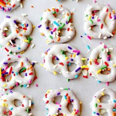 Birthday party pretzels