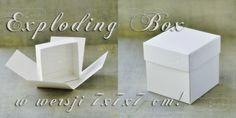 Exploding Boxes, Bookends, Scrap, Home Decor, Decoration Home, Room Decor, Home Interior Design, Home Decoration, Explosion Box