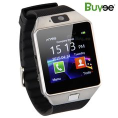 Buyee Dz09 1.54-Inch Wristwatch Smartwatch with Pedometer Anti-lost Camera for iPhone, Sansung, Huawei android Phones - Silver. HD display: High sensitive capacitive touch screen;perfect match technology. Style: Florid,Colorful,Classics.Free switch;Self-Timer: Take photos by smart watch or use smart watch control the phone and take photos. Phone function: Make phone call directly from the smart watch,including answering and dial-up.SIM slot,support make calls by Bluetooth or smart watch…