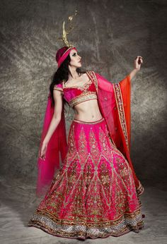 Indian Bridal Wear by Pam Mehta | Myshaadi.in#bridal wear#india#bridal lehengas#designer bridal outfits#indian wedding