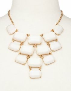 Tiered Bead Statement Necklace $12.99