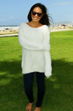 Knit sweater from Dreamgirls | Ocean Beach, CA
