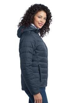 Port Authority - Ladies Mission Hooded Puffy Jacket Port Authority. $76.95