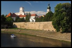 gyor, hungary | Győr Picture: The river Rába