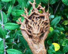 Dellamorte & Co. Statues, Fair Lawn, Tree People, Spirited Art, Nature Spirits, Visionary Art, Tree Art, Wood Art, Witch