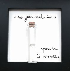 New year resolutions Time capsule by OnMoments on Etsy