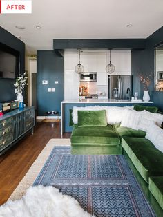 Before & After: A Newly Renovated Apartment Gets An Unbelievable Redo