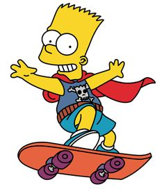 The Simpsons character style Homer Bart Lisa Marge Maggie Wall Decal Sticker 116 Simpsons Drawings, Simpsons Cartoon, Simpsons Characters, Cartoon Art, Bart And Lisa, Skateboard, Simpson Wallpaper Iphone, Paddy Kelly, Free Tv Shows