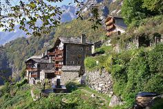 Savogno, Italy- Bucket list, to one day hike to my family's village.