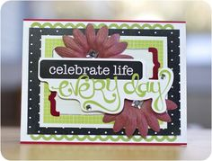 another great card using Creative Memories Enchanted Power Palette