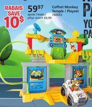 "Coffret Monkey Temple Paw Patrol de Toys ""R"" Us 59,97 $ (14% de rabais) -"