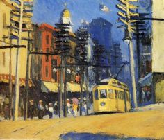 Yonkers, Oil by Edward Hopper (1882-1967, United States)