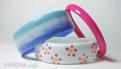 Fabriquez des jolis bracelets en recyclant vos bouteilles de plastique!