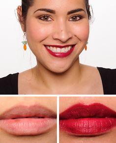 """NARS Palais Royal Satin Lip Pencil NARS Palais Royal Satin Lip Pencil ($25.00 for 0.07 oz.) is described as """"sangria."""" It's a dark, berry-red with a satin"""