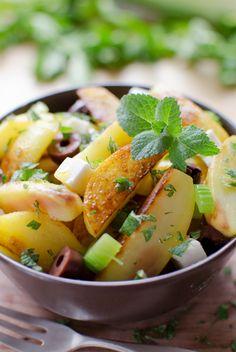 Greek potatoe pan